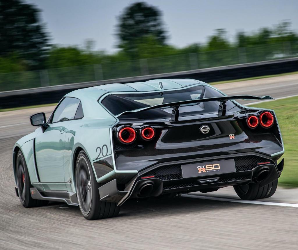 спойлер Nissan GT-R50 Italdesign 2021
