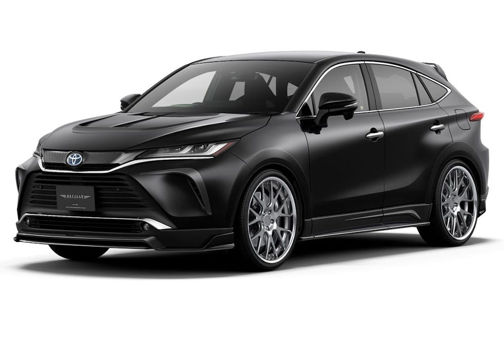 тюнинг Toyota Venza Harrier 2021 от Artisan Spirits
