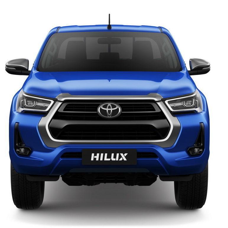 фары, бампер, решетка Toyota Hilux 2021