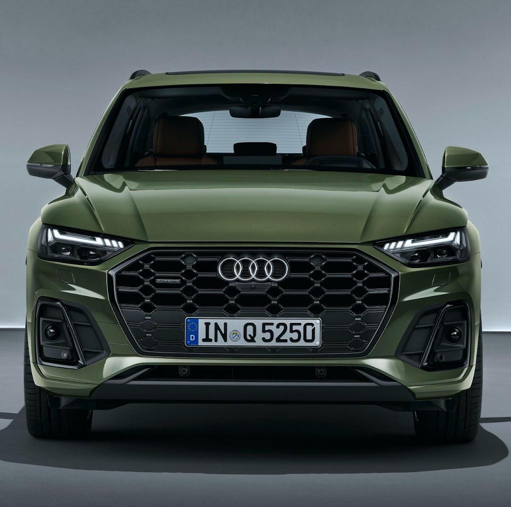 фары, решетка, бампер Audi Q5 2021 года