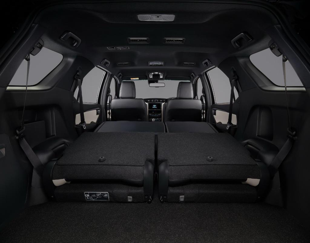 интерьер Тойота Фортунер 2021