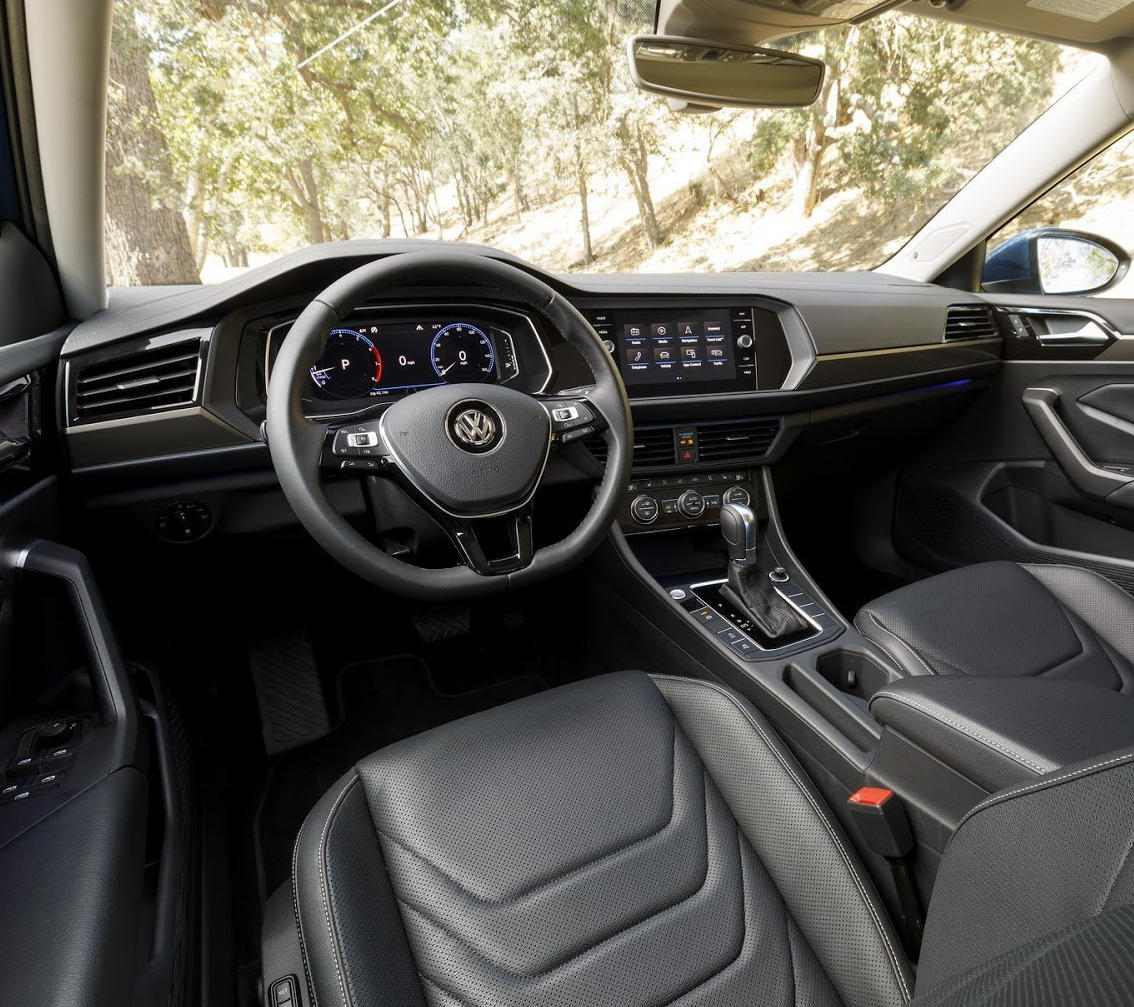 интерьер Volkswagen Jetta (A7) 2020