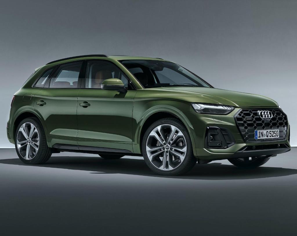 новый Audi Q5 2021 в России