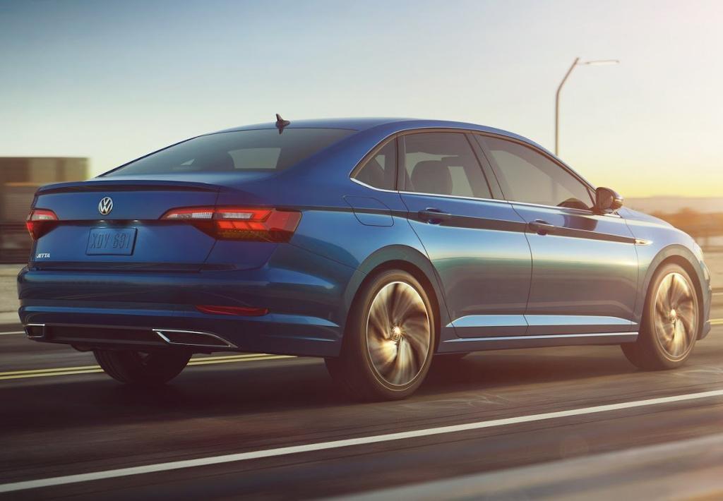 Volkswagen Jetta (A7) 2020 новый кузов