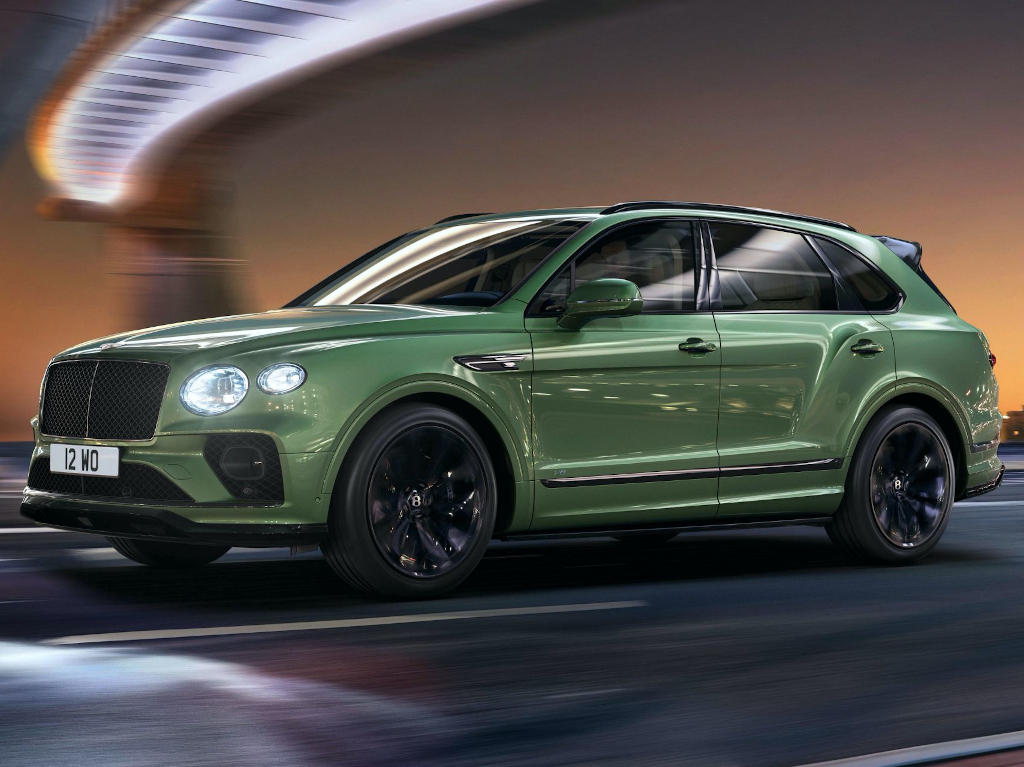 Bentley Bentayga 2021 диски