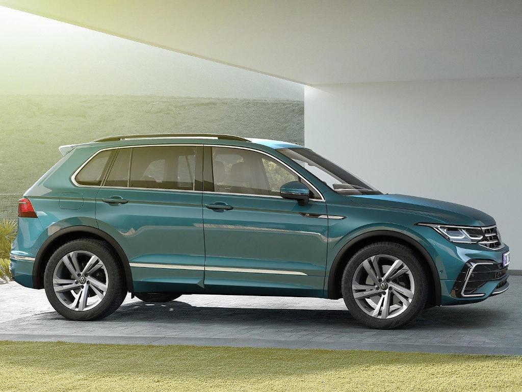 диски Volkswagen Tiguan 2021 года