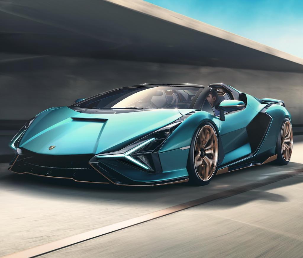 фары и бампер Lamborghini Sian 2021