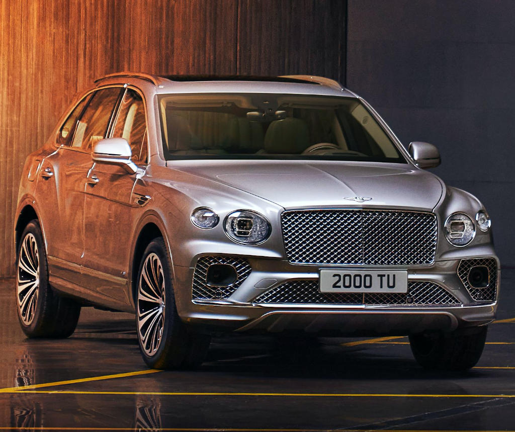 фото Bentley Bentayga 2021 года