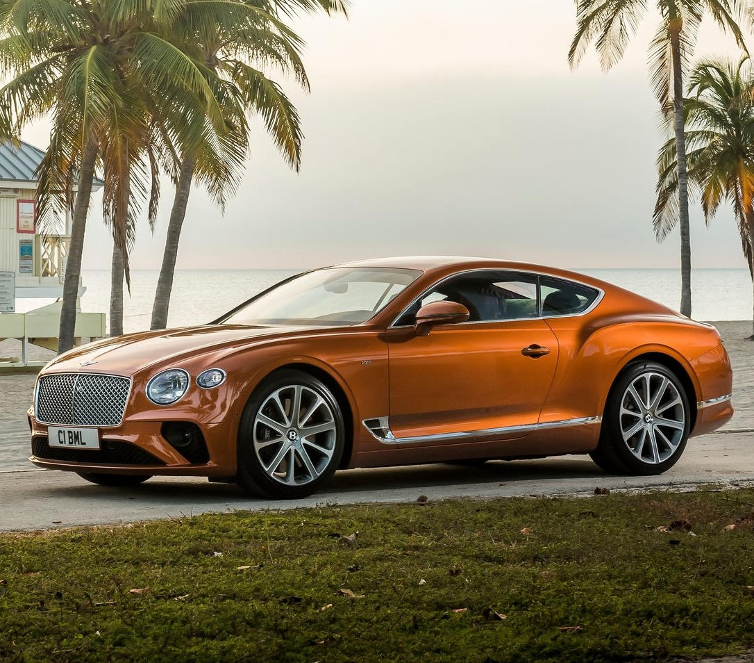 фото Bentley Continental GT 2021