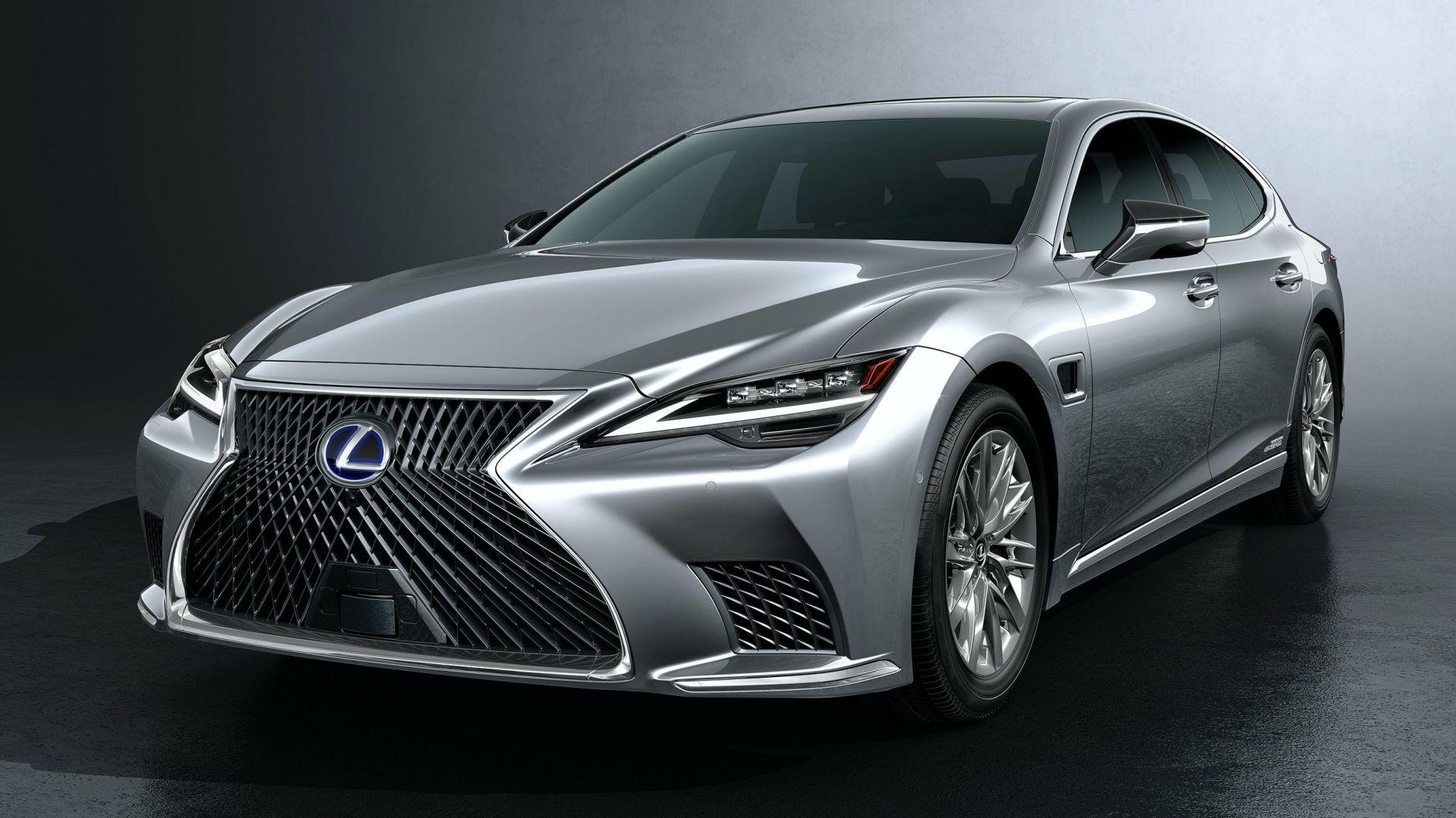 фото Lexus LS 500h 2021 года