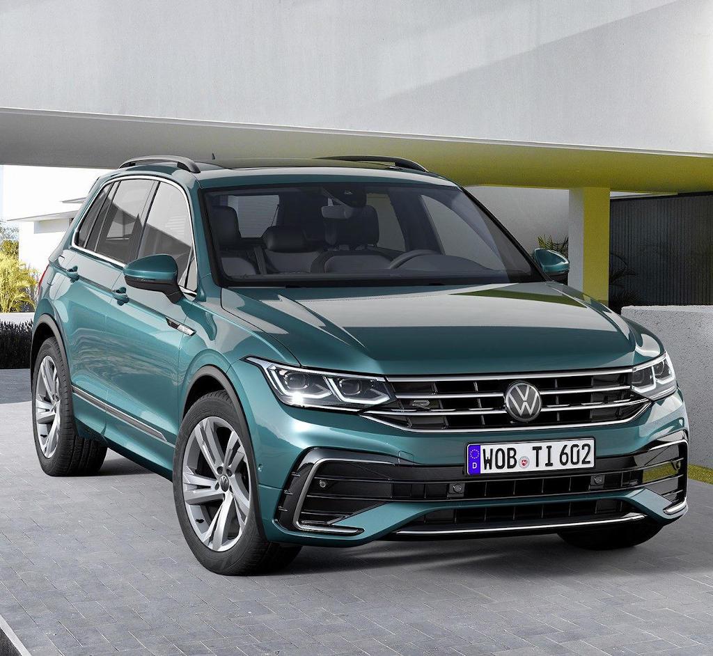Новый Volkswagen Tiguan 2021 в России: фото, цена, характеристики, видео Тигуан