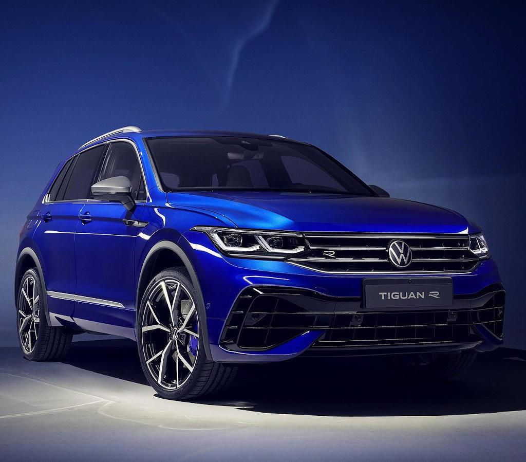 фото Volkswagen Tiguan R-версия 2021