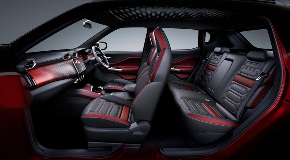 интерьер Nissan Magnite 2021