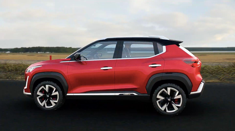 кроссовер Nissan Magnite 2021 сбоку