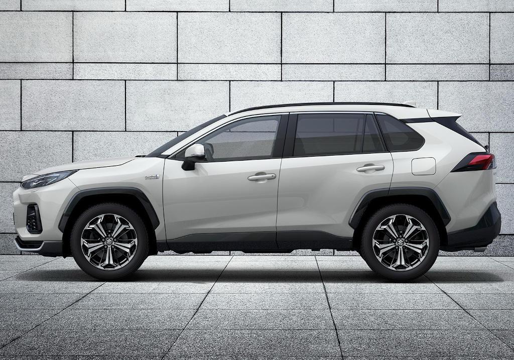 новый Suzuki Across 2021 сбоку