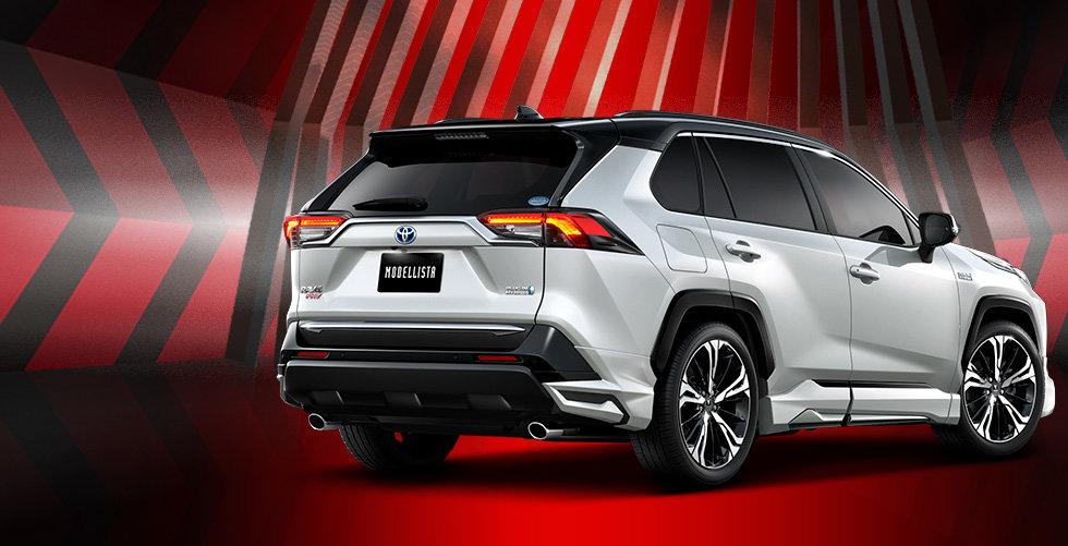 обвес Toyota RAV4 2020 от Modellista