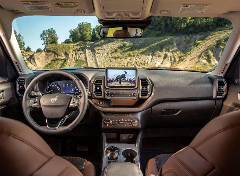 салон Ford Bronco Sport 2021 фото