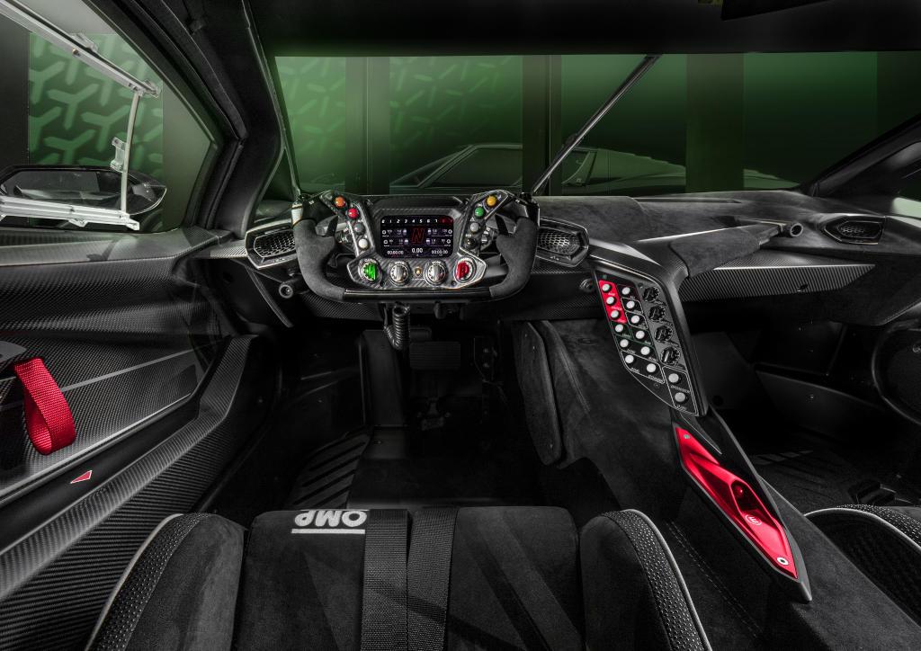 салон Lamborghini Essenza SCV12