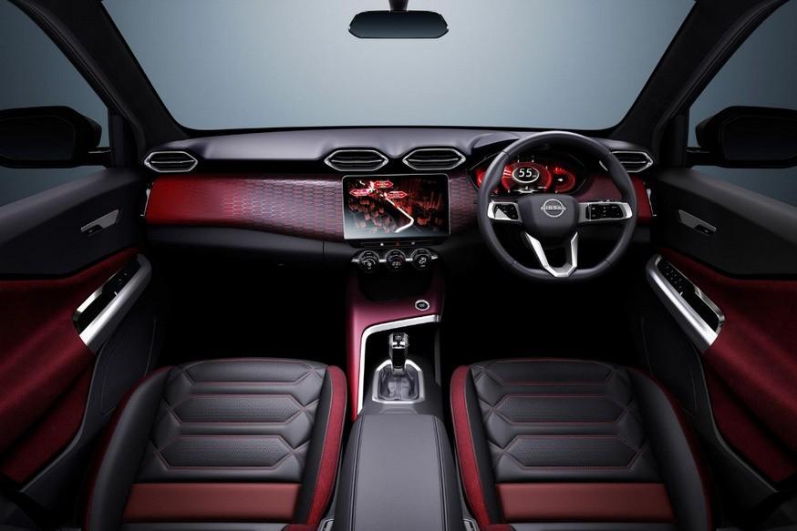 салон Nissan Magnite 2021