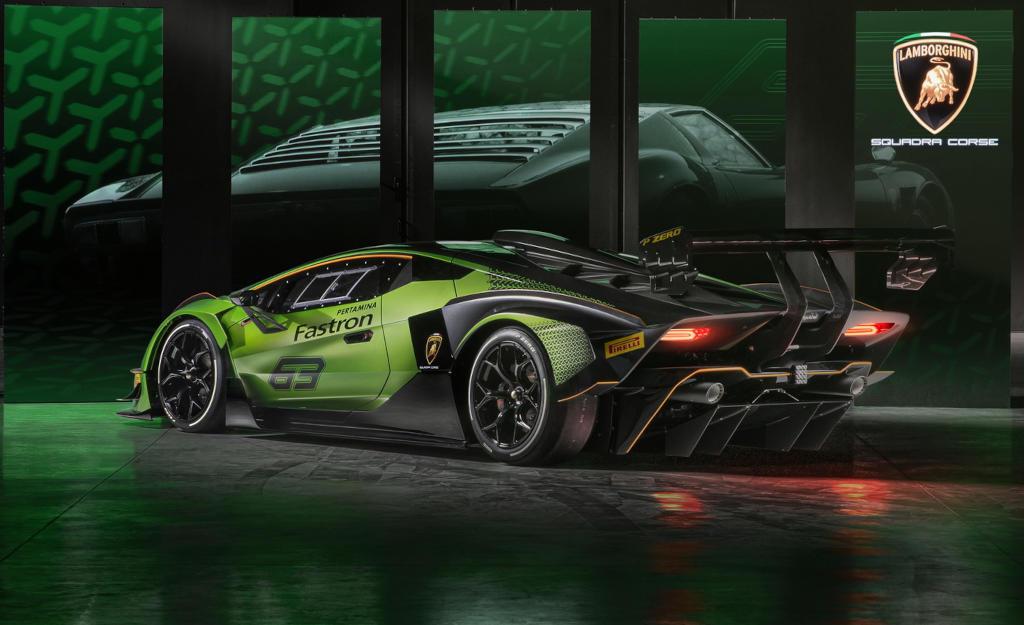 задние фонари Lamborghini Essenza SCV12
