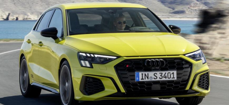 фото Audi S3 Sportback 2021