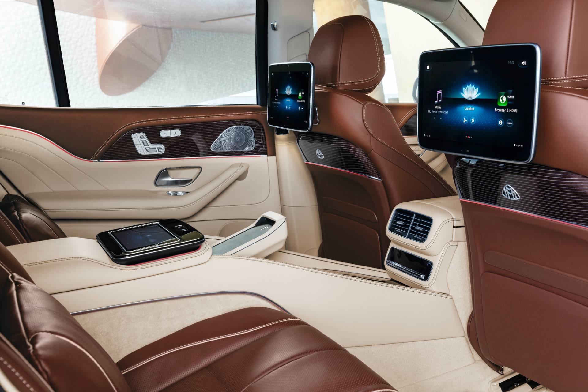 интерьер Mercedes-Maybach GLS 600 2021