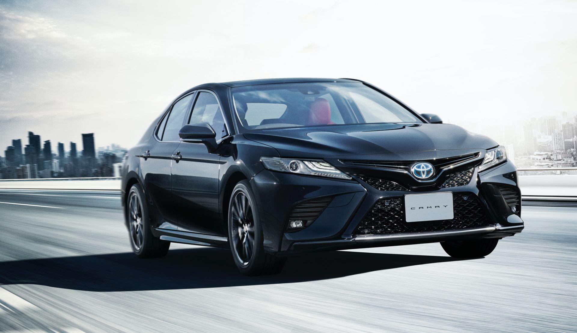 Новая Toyota Camry WS Black Edition 2020—2021