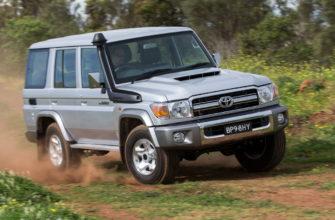 новый Toyota Land Cruiser 70 2021