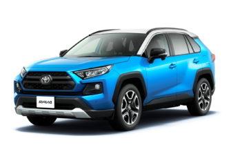 новый Toyota RAV4 2021