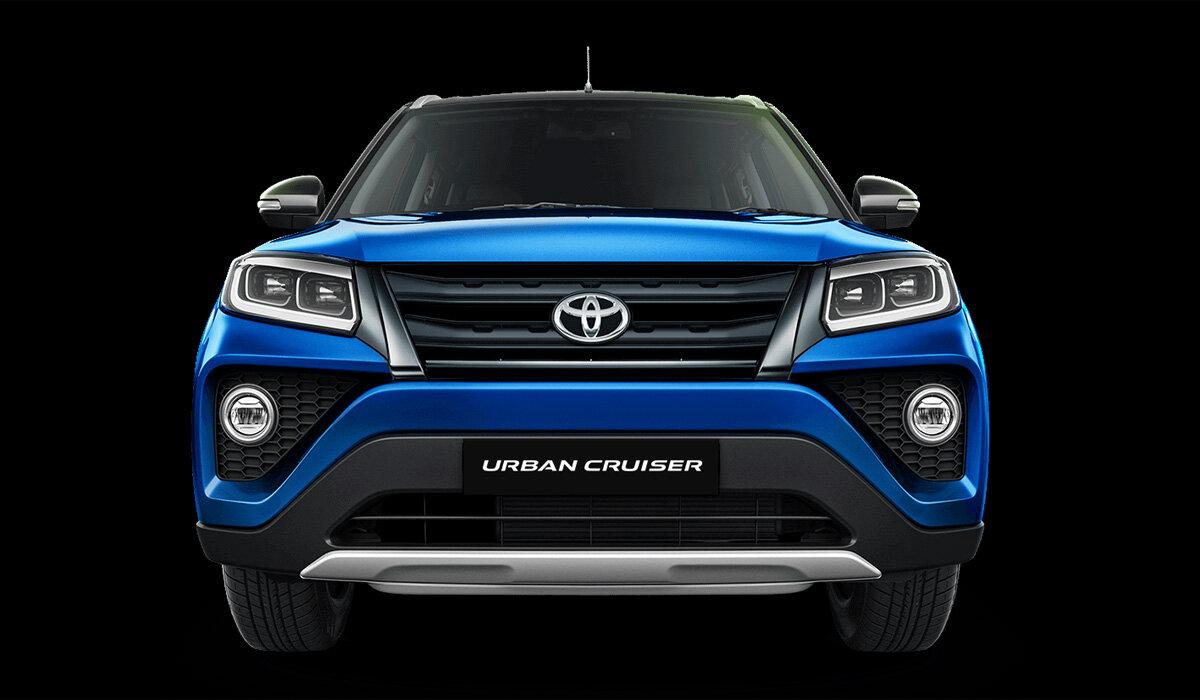 решетка, фары, бампер Toyota Urban Cruiser