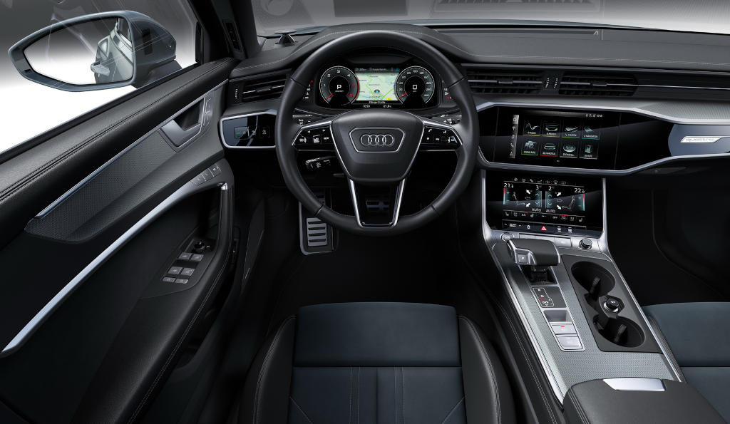 салон Audi A6 allroad quattro 2021