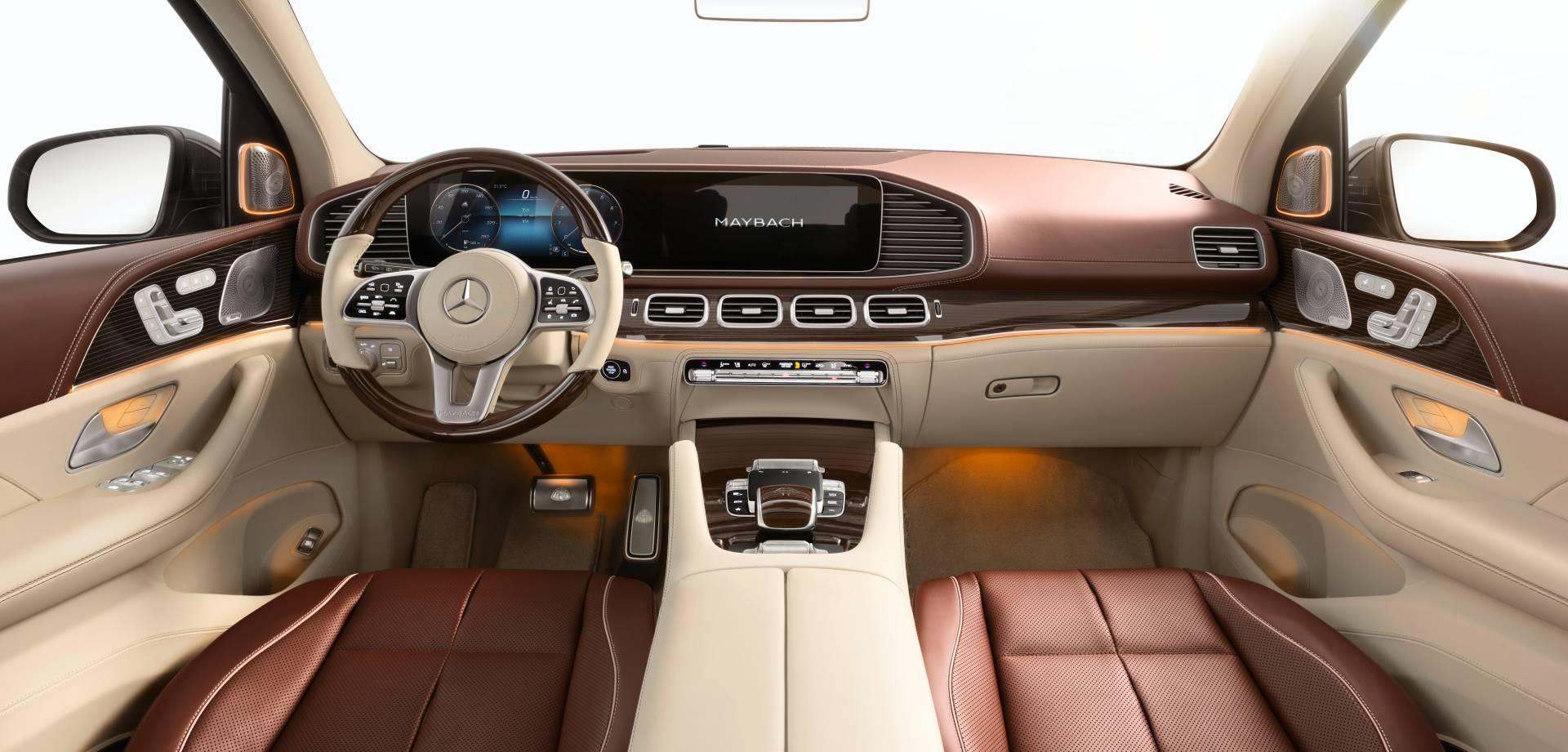 салон Mercedes-Maybach GLS 600 2021
