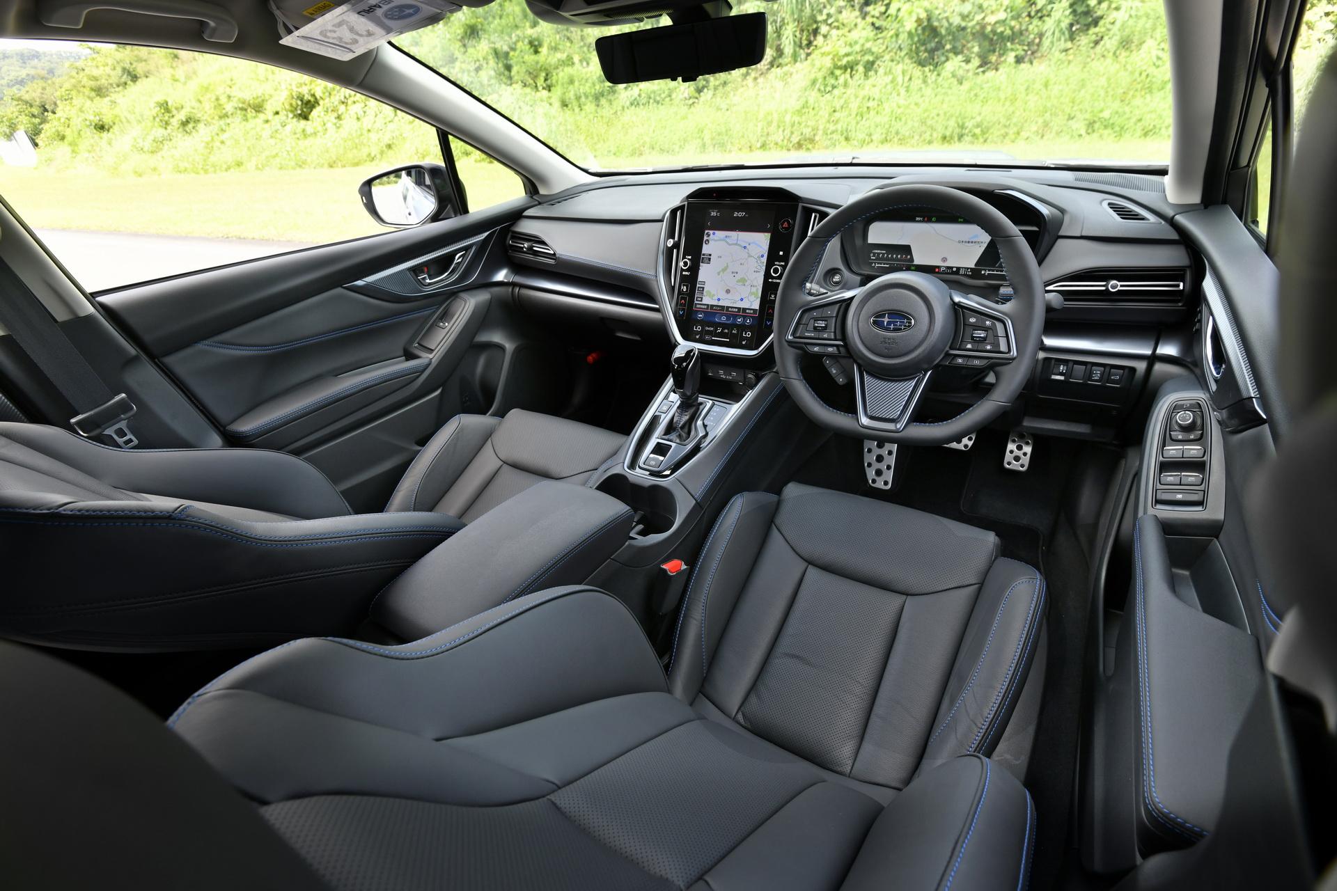 салон Subaru Levorg 2021 фото