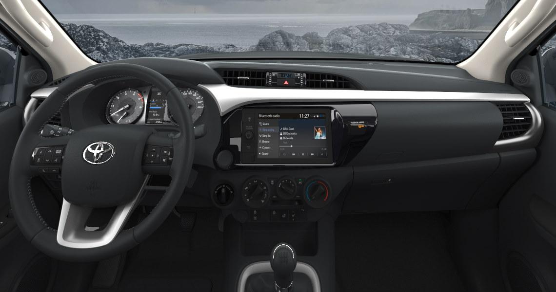 салон Toyota Hilux 2021