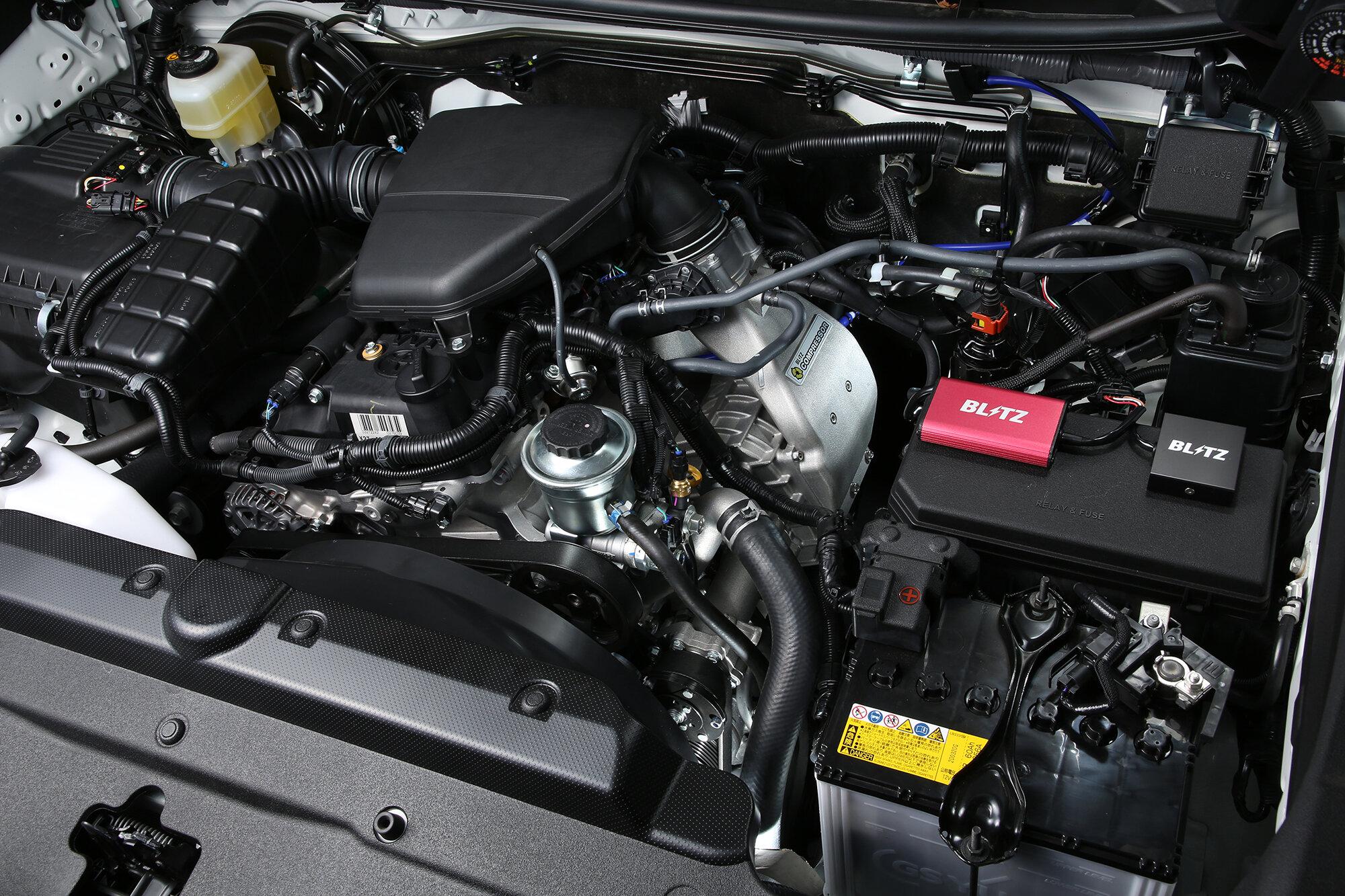тюнинг двигателя Toyota Land Cruiser Prado 150 2.7 от Blitz