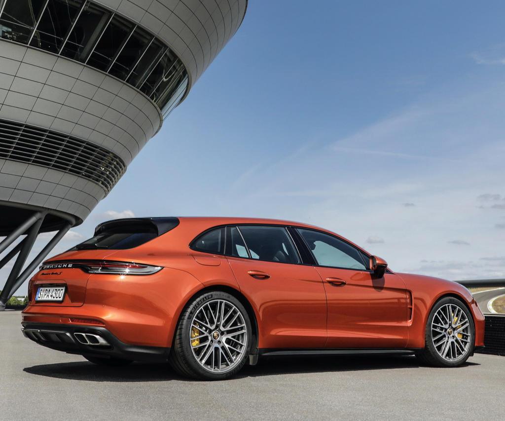 диски Porsche Panamera 2021 года