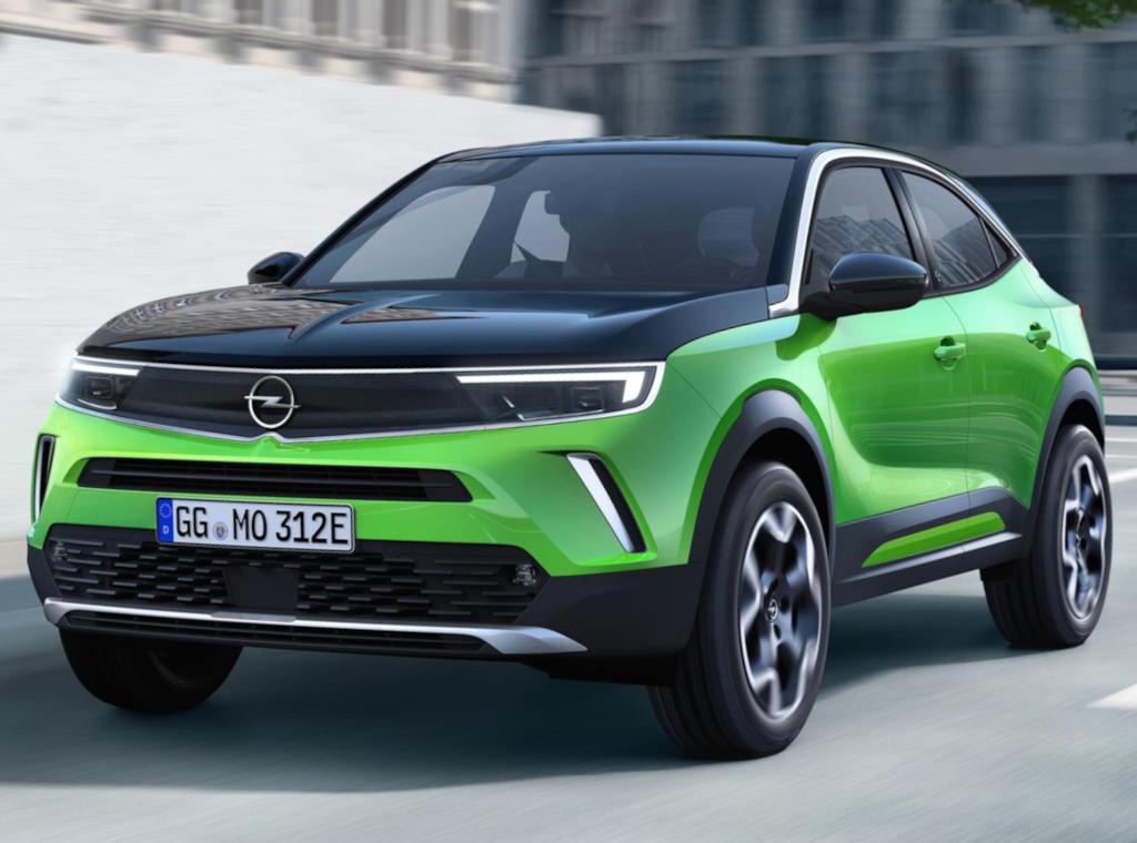электромобиль Opel Mokka-e 2021 фото
