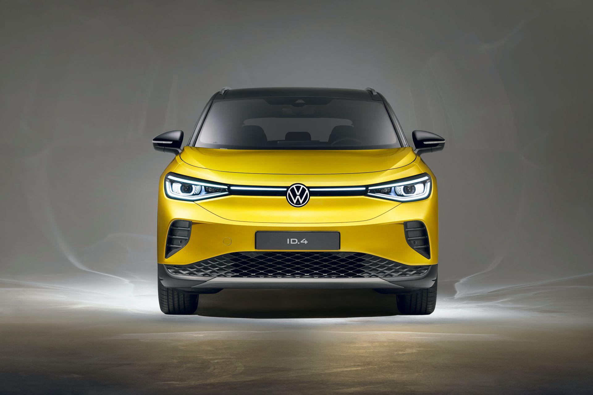 фары, бампер Volkswagen ID.4 2021