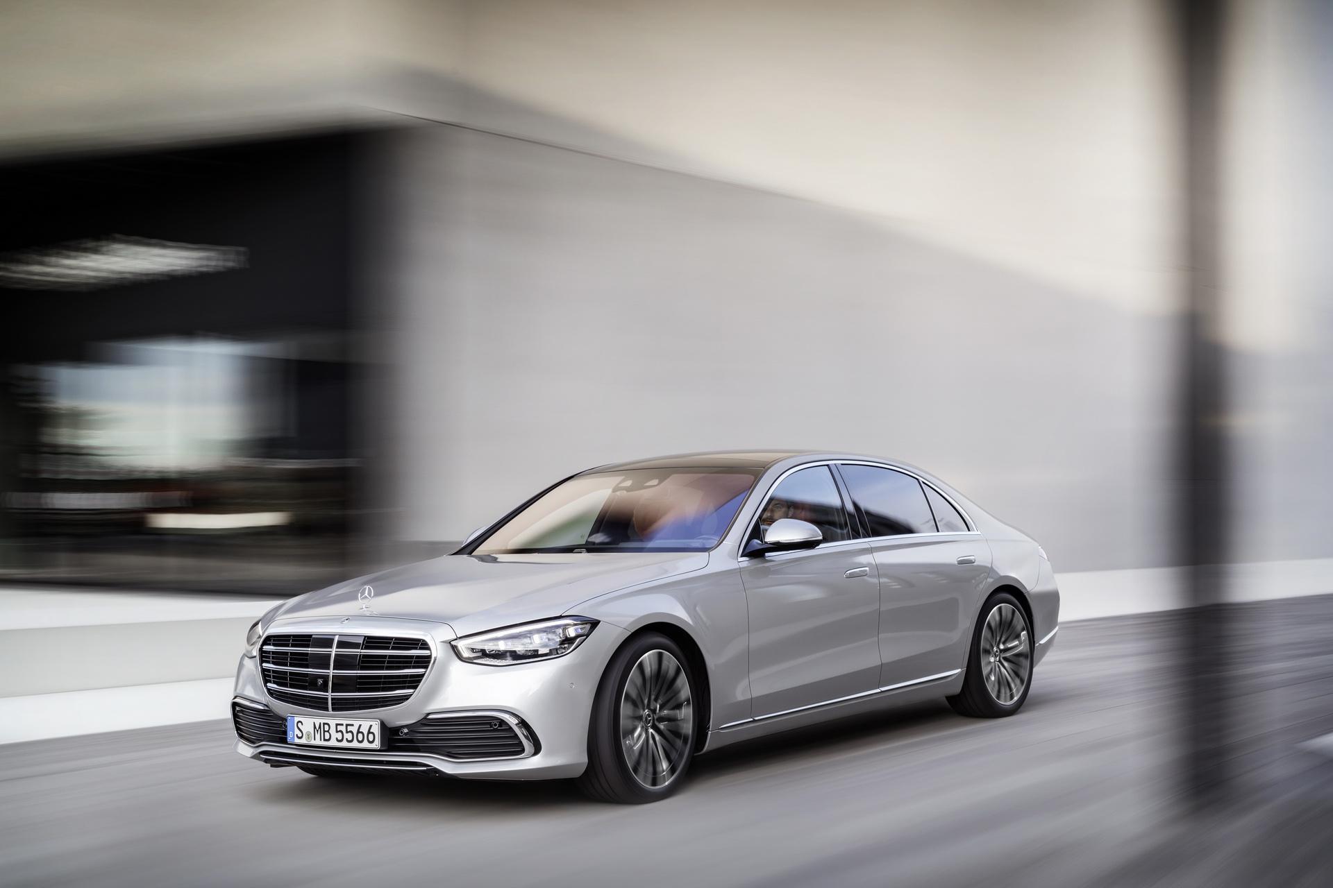 фото Mercedes S-Class W223 2021