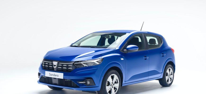 фото нового Renault Sandero 2021