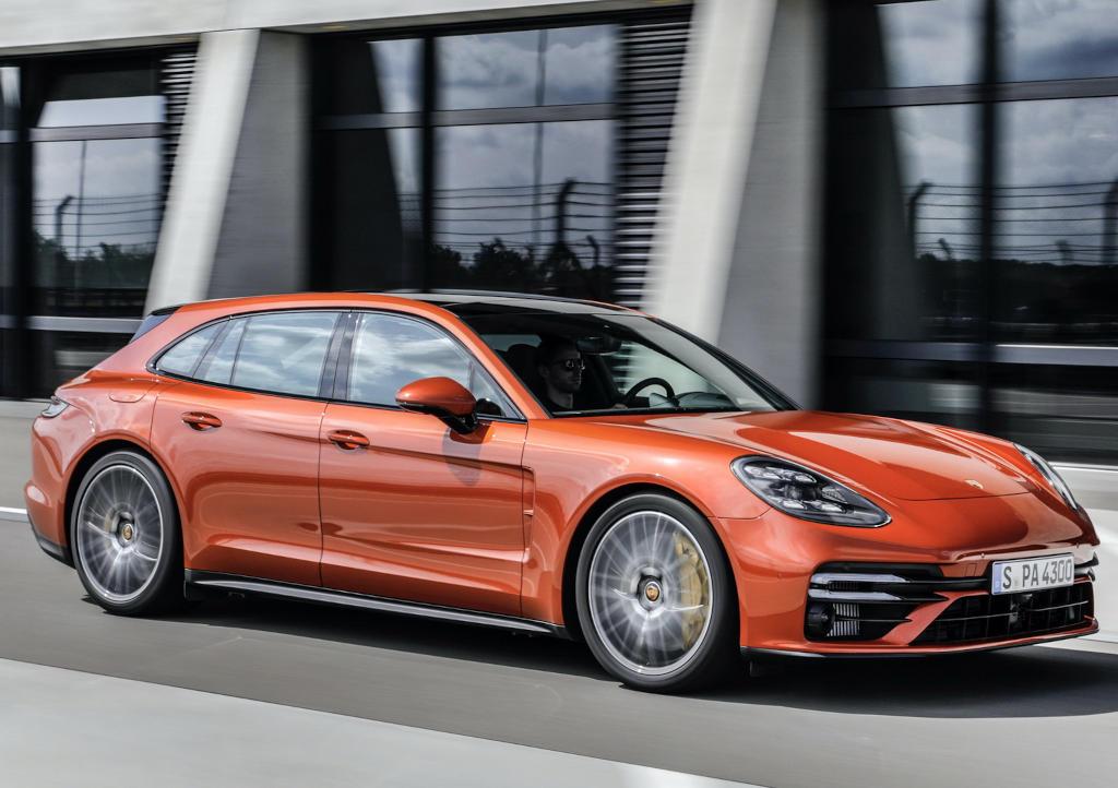 фото Porsche Panamera 2021 года