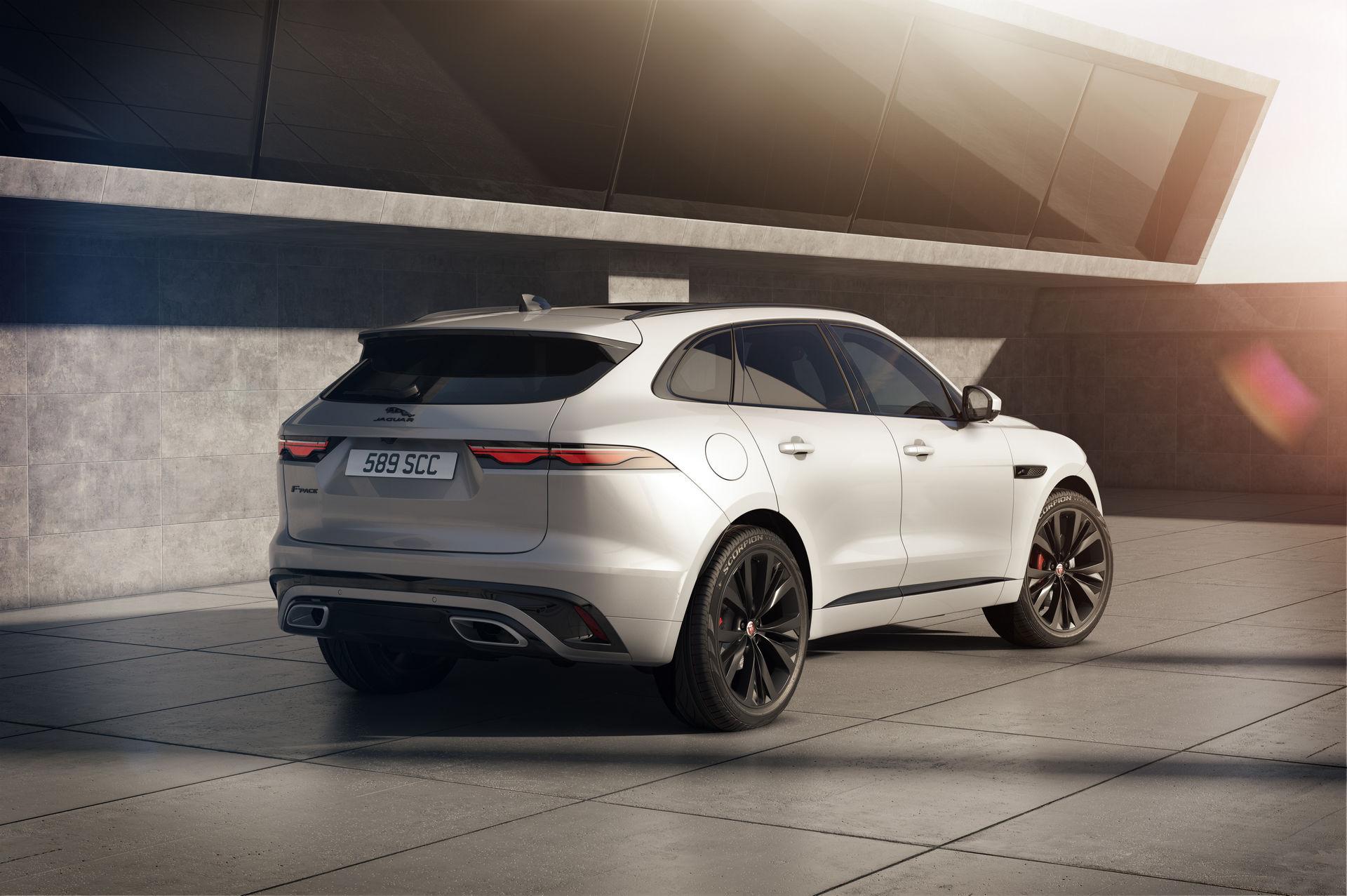 Jaguar F-Pace 2021 задняя часть