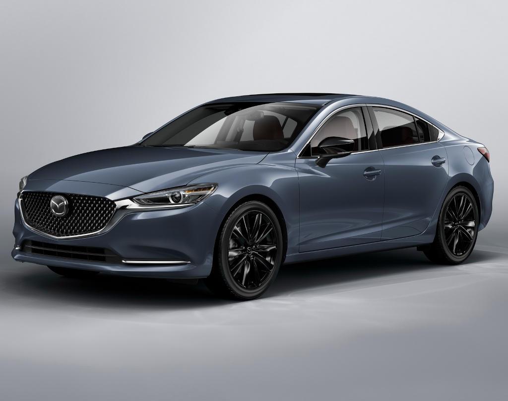 Новая Mazda 6 2021 Carbon Edition фото
