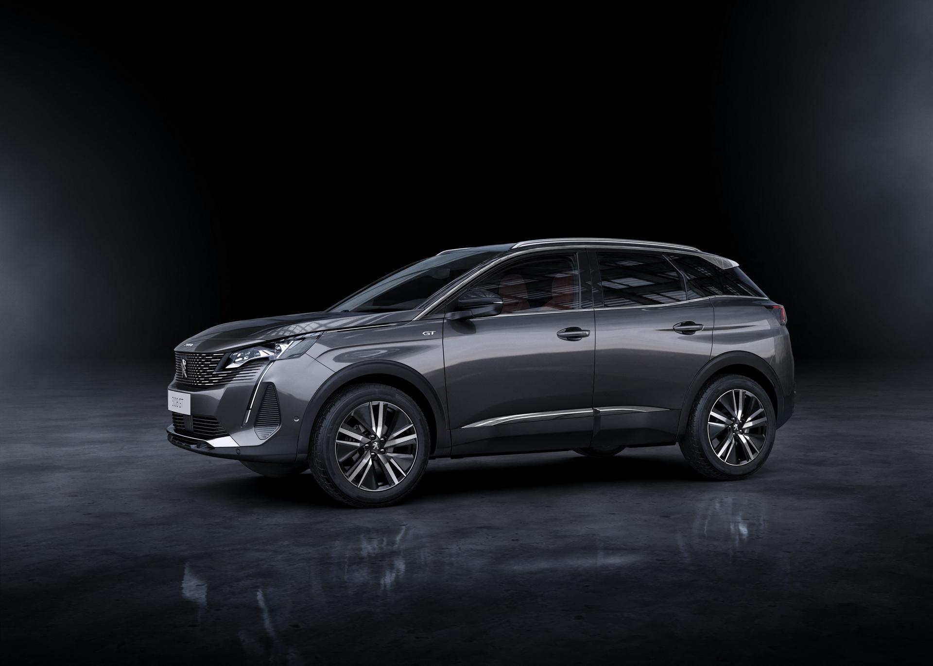 новый Peugeot 3008 2021 диски