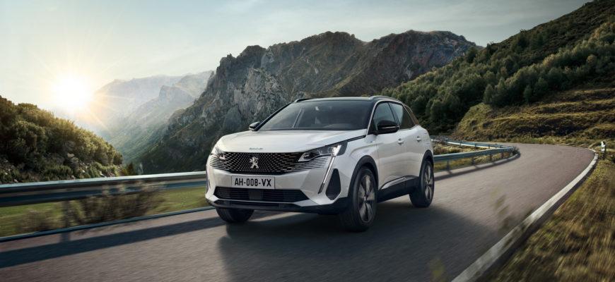 новый Peugeot 3008 2021 фото
