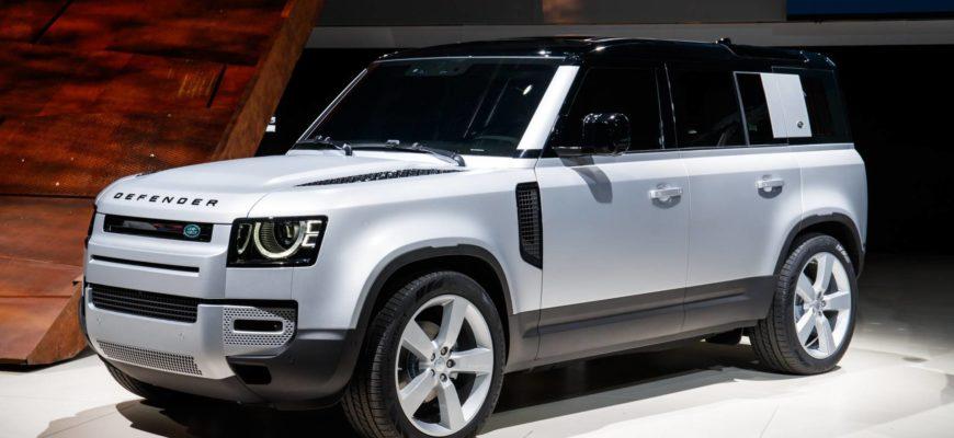 Новый Land Rover Defender 110 и 90 2020 - 2021 в России ...
