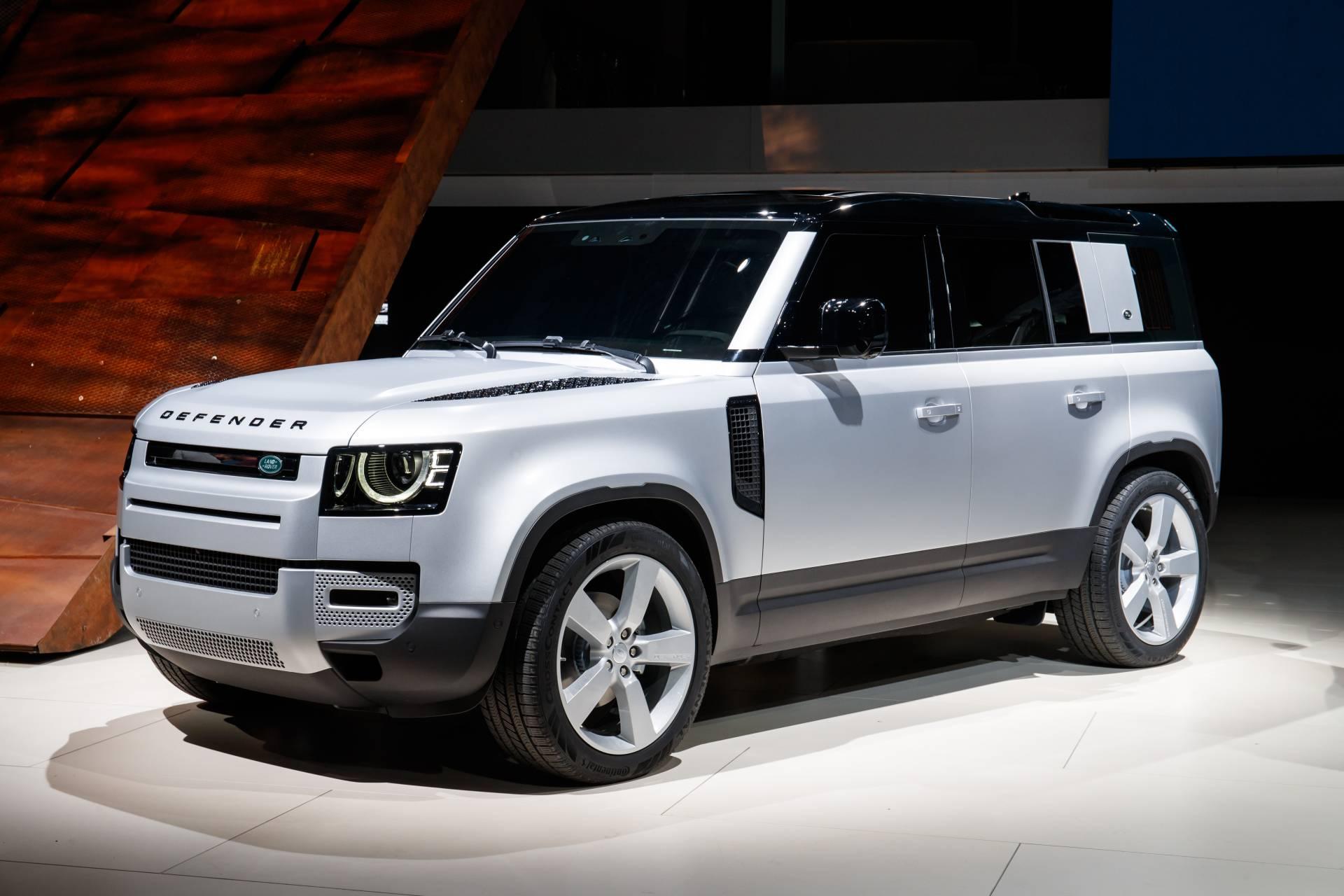 новый пятидверный Land Rover Defender 110 2020 – 2021 в России