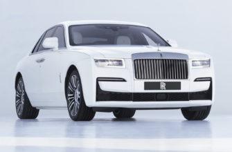 новый Rolls-Royce Ghost 2021 фото
