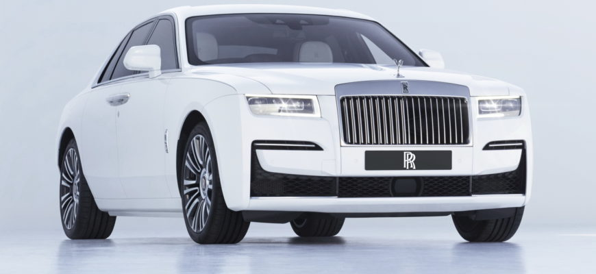 новый Rolls-Royce Ghost 2021 фото