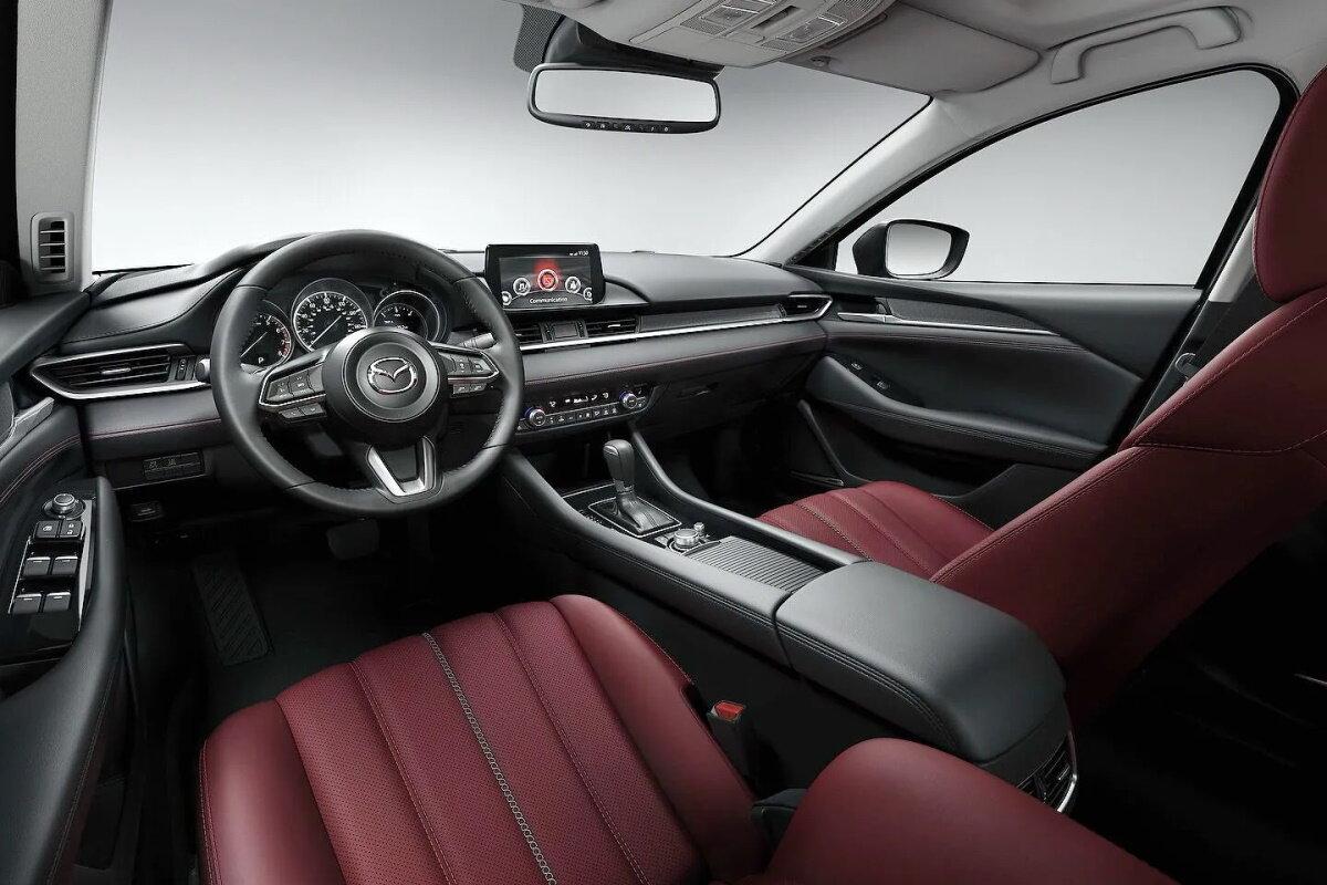 салон Mazda 6 2021 фото